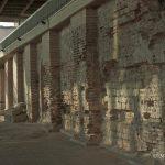zidul cu pilastri